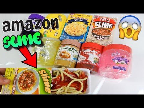 SLIME COMPRATI DA AMAZON AMERICA! *SLIME CIBO strani* Iolanda Sweets