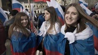 Вежливые люди в Крыму .