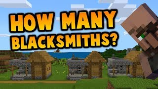 This Minecraft Seed Has How Many Blacksmiths