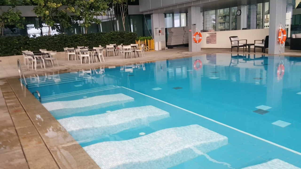 The Westin Singapore Swimming Pool Vid Youtube