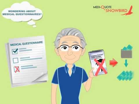 Medical Questionnaires and Travel Insurance