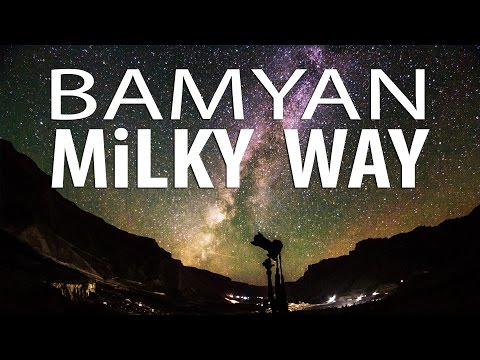 Shooting Milky Way in Band-e-Amir, Bamyan Afghanistan, Astrophotography