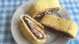 Rulo Pasta Tarifi - Evde Pasta Yapımı - En Kolay Tatlı Tarifleri