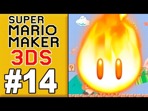 MARIO MAKER 3DS #14 - METEORO DO FOGÃO