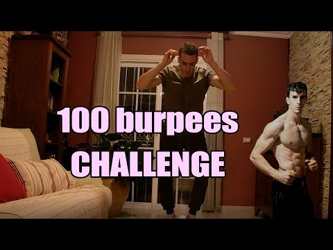 100 consecutives burpees. Actually I did 101