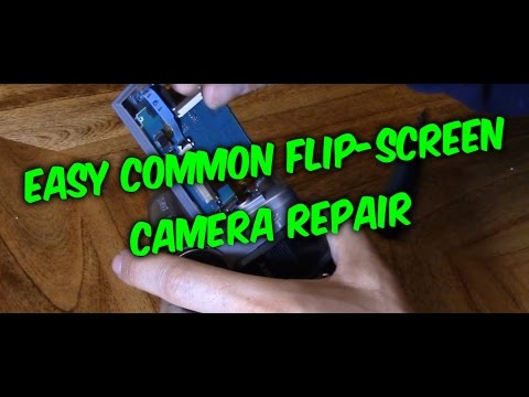 How to fix camera flip screen not working