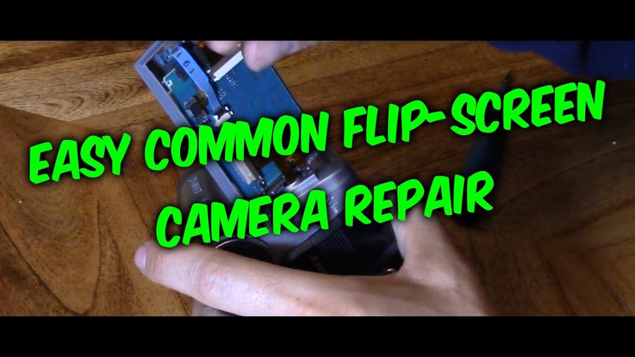 How To Fix Camera Flip Screen Not Working Youtube Circuit Bent Casio Sa75 Glitching