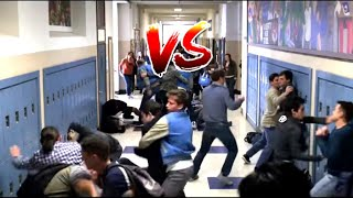 The best fight in the series school