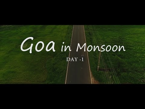Goa In Monsoon | Day 1 Vlog | Akiphotography