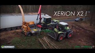 VALORMAX D80-120 | Claas Xérion 5000 et 3300