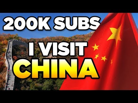 200K SUBS! | CHINA BEIJING – 2018 Trip & Travel Guide