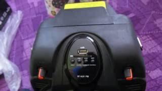 Unboxing Boxa Portabila Activa Akai SS022A-X6