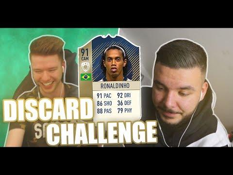 CanBroke | Ronaldinho Discard Challenge | Ich gegen E-Sportler Proownez