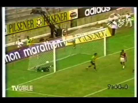 Goles Barcelona 5 Deportivo Quito 0 Campeonato Nacional 1998