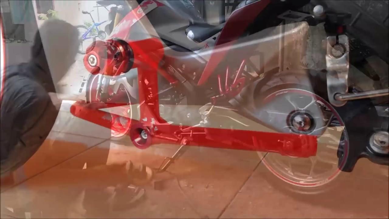 Membuat Sub Frame Engine Guard Yamaha Xabre Mslaz Diy Stang