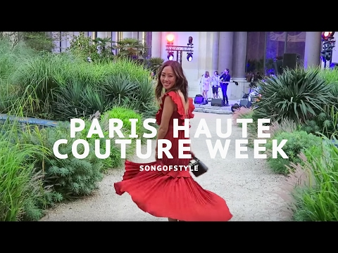Song of Style does Paris Haute Couture
