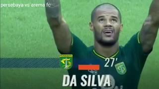 Kumpulan gol David Da Silva striker Ganas Persebaya Surabaya || Shopee liga 1 2019