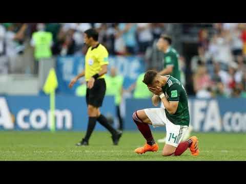 Tangis Bahagia Chicharito Saat MESKSIKO MENGALAHKAN JERMAN 1 0 di Grup G Piala Dunia 2018 FIFA WORLD