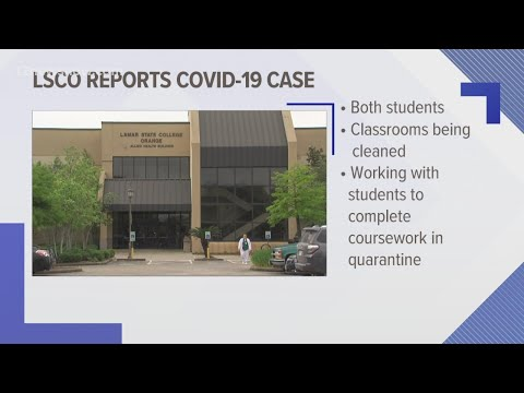 Lamar State College Orange reports COVID-19 cases