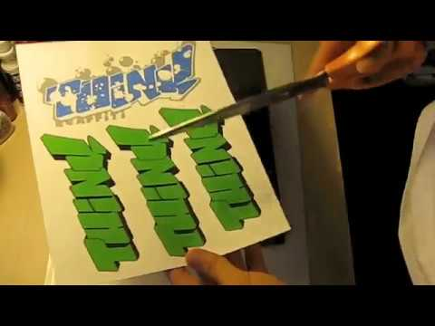 How To Make Professional Graffiti Stickers