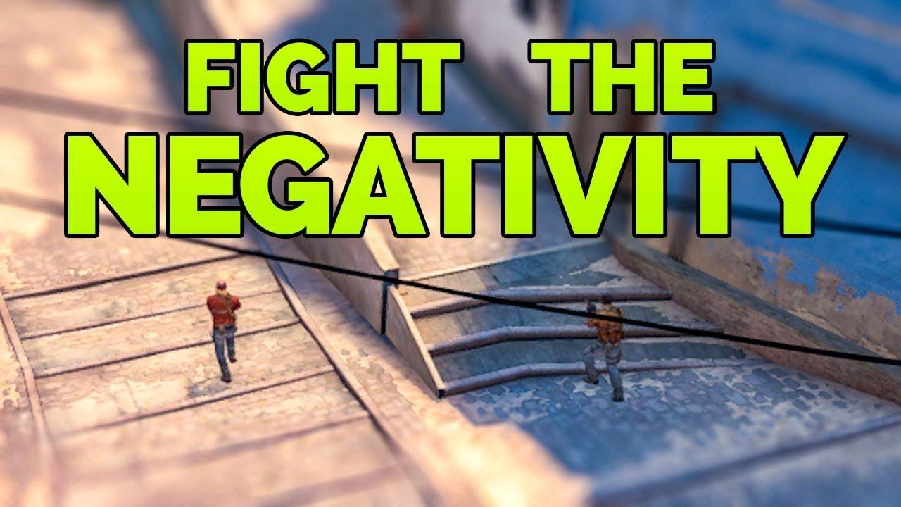 Combattre la négativité avec la positivité - CSGO Faceit + vidéo