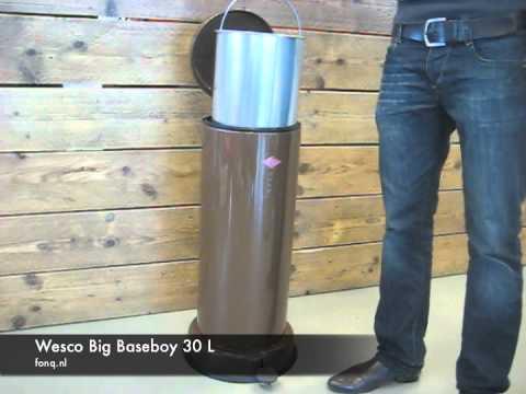 Pedaalemmer Wesco Baseboy.Wesco Big Baseboy 30 L