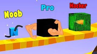 NOOB vs PRO vs HACKER - Draw Climber