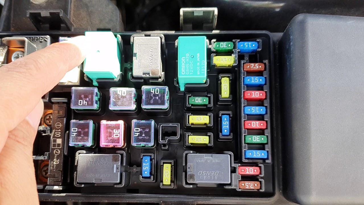 honda accord 2007: find fuse box configuration under bonnet - youtube  youtube