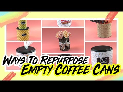 7 Creative Coffee Can Crafts