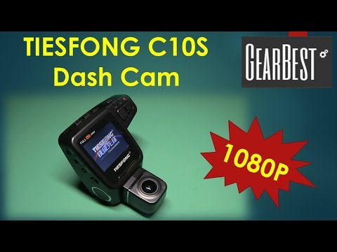 Tiesfong C10S 1080P Dash Cam From GearBest