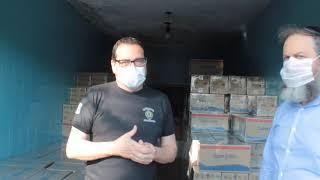 Pastor Eliel - Campanha cestas básicas