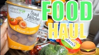 Food Haul November 🍔 deutsch 🌭 LIDL & Kaufland 🍜 Nickisbeautyworld