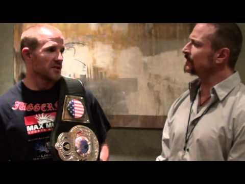 www FIGHTFAN net   Jason Clayton post fight