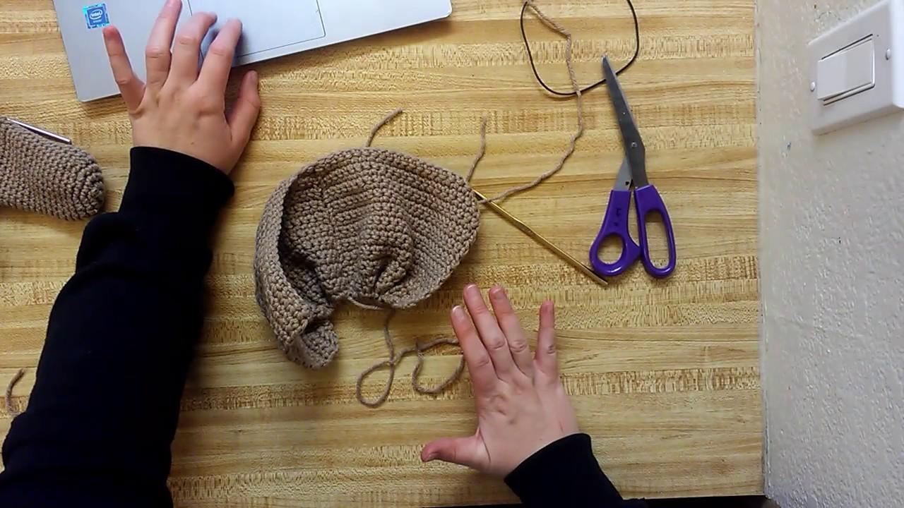 Crochet Penis Warmer Part 3 Assembling The Sack Youtube