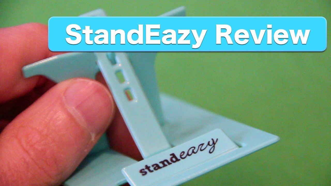 Review: StandEazy Phone Stand. Credit Card Sized Stand for ...