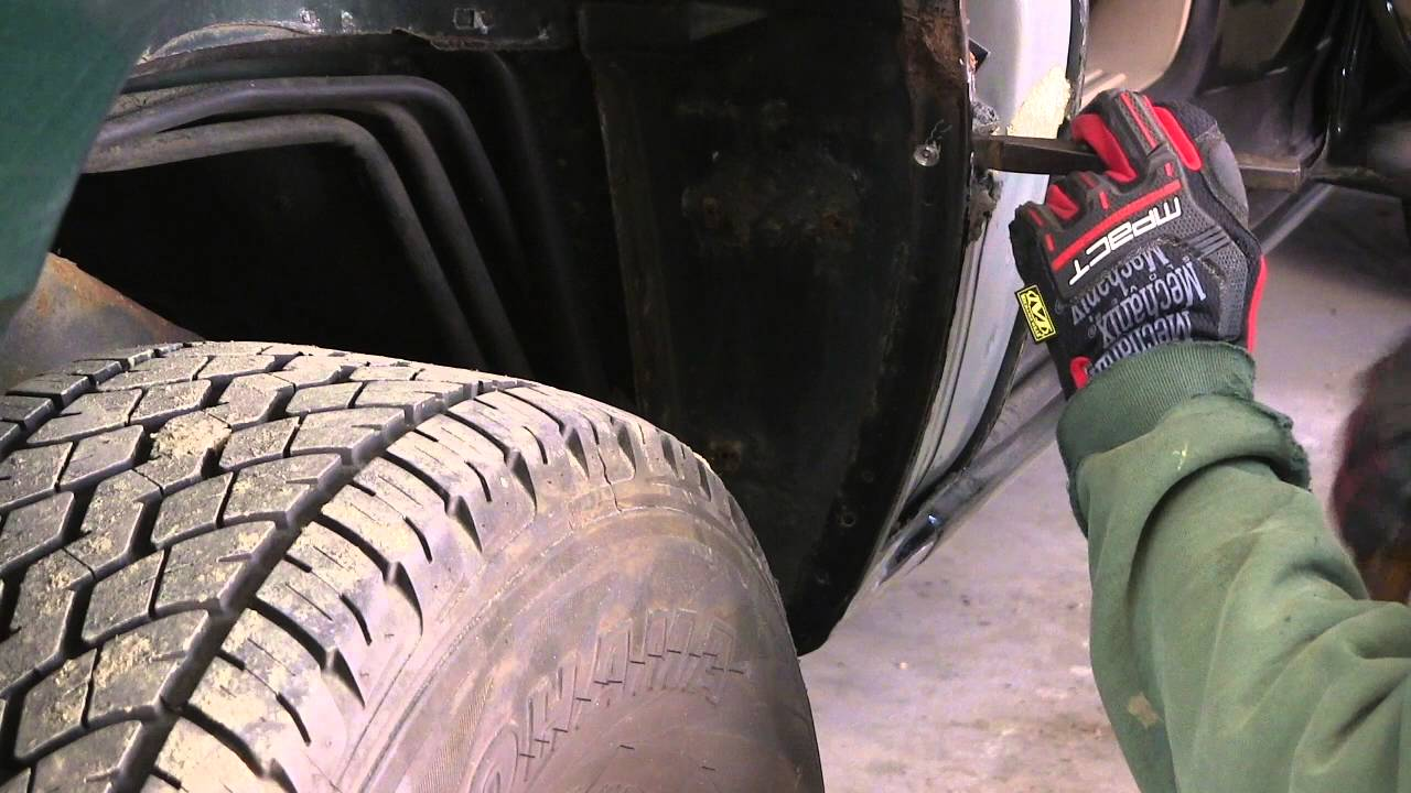 2003 Suburban Quarter Panel Repair Youtube