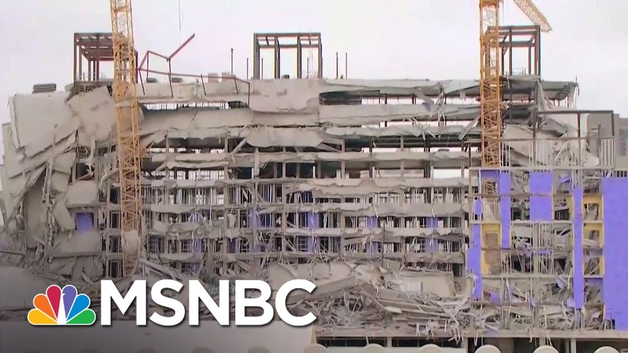1 Dead, 3 Missing After Hard Rock Hotel Under Construction In New Orleans Collapsed | MSNBC
