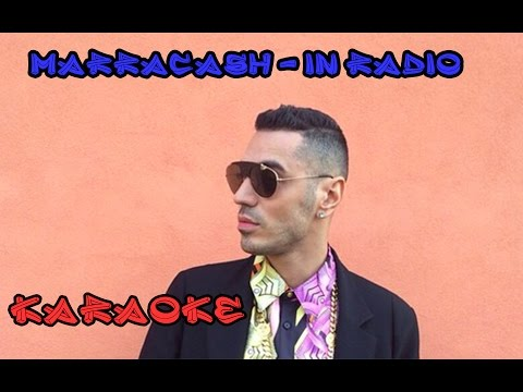 Marracash - In Radio - KARAOKE