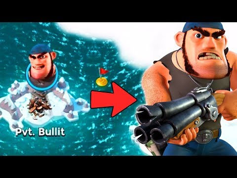 How to Find and Unlock Private Bullit!! Boom Beach NEW HERO!!