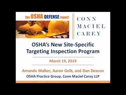 OSHA's New Site-Specific Targeting Enforcement Program