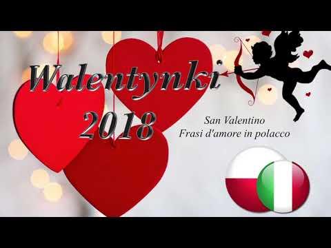 San Valentino - Frasi d'amore in polacco - Italian Polish Learn Polish