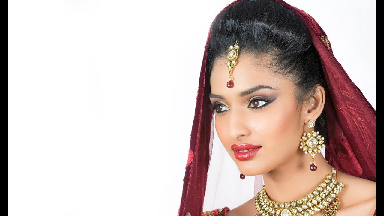 Indian Bridal Makeup Tutorial - BOLD BRIDE - Glamrs - YouTube