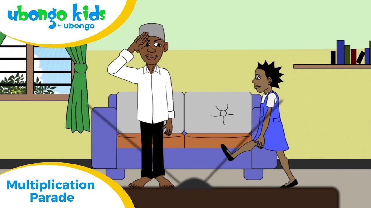 Full Episode #6: Multiplication Parade | Ubongo Kids | Educational Cartoons from Africa
