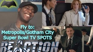 Fly to Metropolis/Gotham City with Turkish Airlines + Hulk vs. Ant-Man Super Bowl REACTIONS