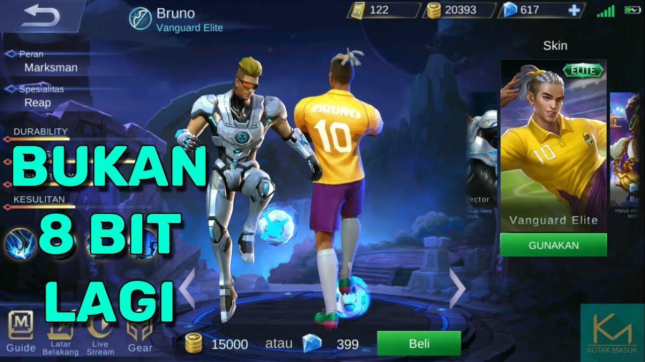 Bruno Dan Skin Elitenya Direvamp