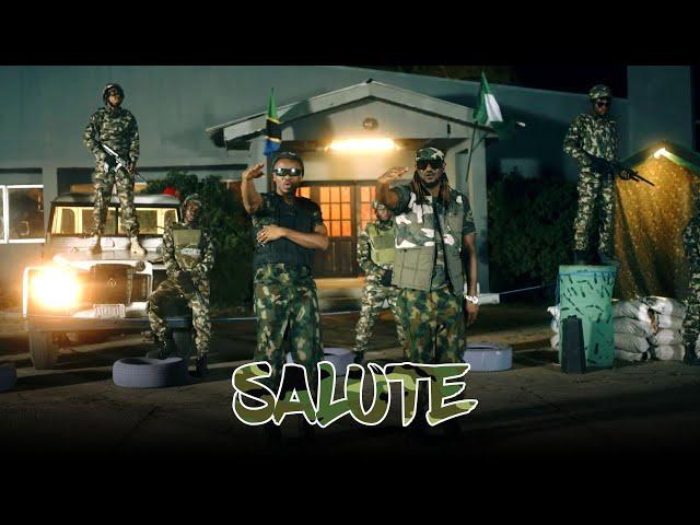 Alikiba Ft Rudeboy - Salute (Official Music Video)