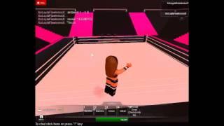WWE 2K14 AJ Lee Entrée pour ROBLOX