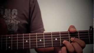 Nachaheko Hoina - The Edge Band (Guitar chords, How to play)