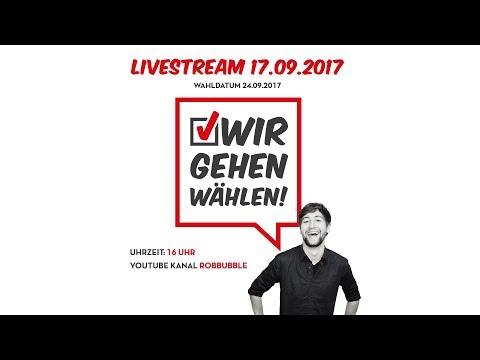 #WirGehenWählen - Die große YouTuber-Wahlparty!
