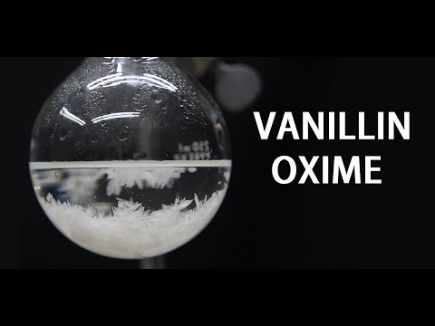 Making Vanillin Oxime (Capsaicin precursor)